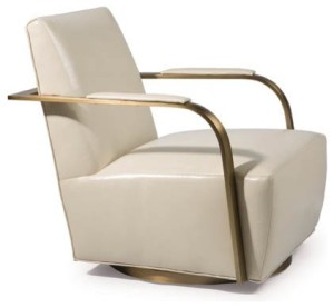 thayer coggin swivel chair