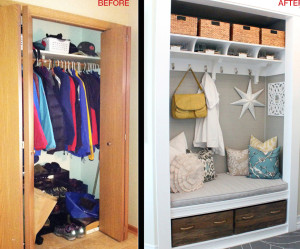 Closet Re-use