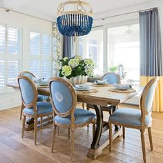 peri dining chairs and curtains