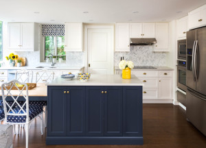 Kitchen Navy island