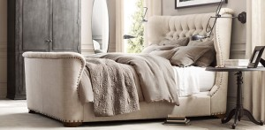 Churchill tufted nailhead RH