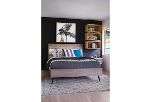 Living Spaces Kai bed