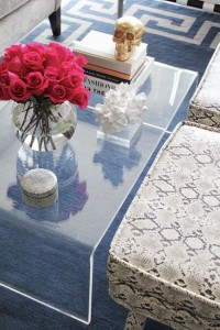 lucite table top